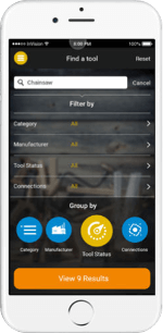 Tool Inventory Mobile Search