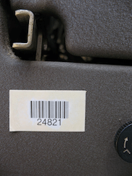 barcode metal labels 1