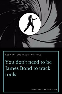 Tool Tracking like James Bond