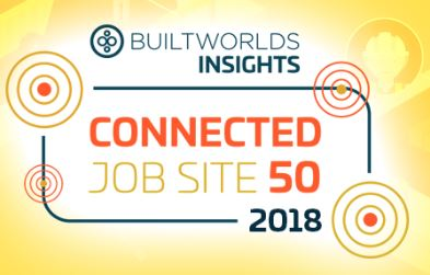Connected Job Site top 50 logo