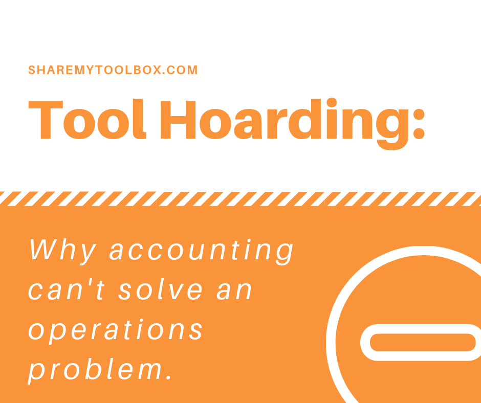 Tool Hoarding for Construction Operations