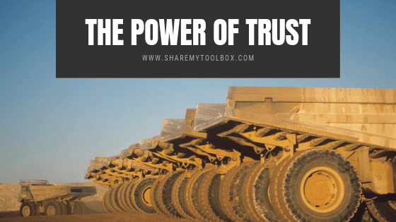Tool Tracking Power of Trust